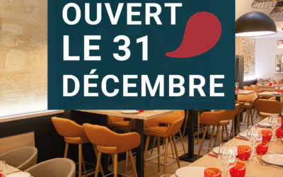 Réservez votre table pour le nouvel an
